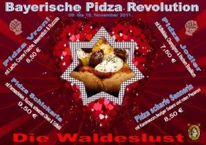 Bayerische Pizza im Herzen von Unterhaching in der Waldeslust