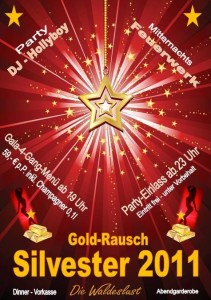 Beende das Jahr 2011 und feier mit uns in Unterhaching in das Jahr 2012