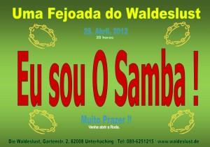 Ein Hauch von Brasilien weht durch Unterhaching - Brasilianische Party in der Waldeslust