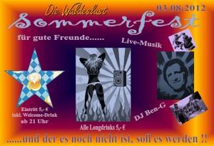 Sommerfest in der Waldeslust 2012