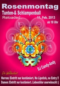 Rosenmotag Party für Unterhaching und Umgebung